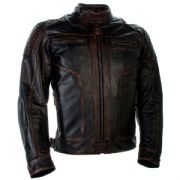 Richa Detroit Leather Jacket Brown